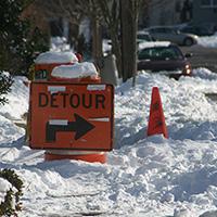 detour snow