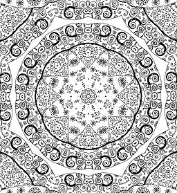 doodle mandala by TheDoodleQueen