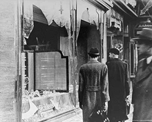 Day after Kristallnacht