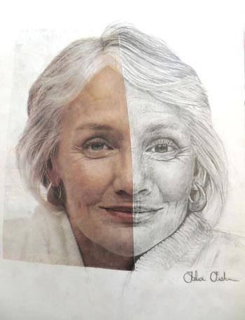 Symmetry Portrait by Talia Fishman