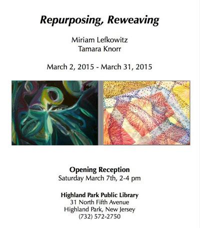 Repurposing, Reweaving: Recent Paintings