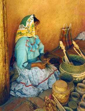 Tarahumara in Copper Canyon