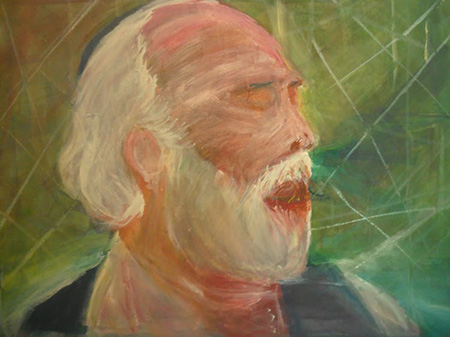 Shlomo Carlebach by Ilan Block