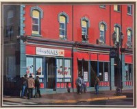 Bill Bonner - Raritan Avenue building