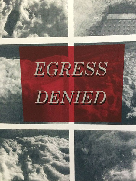 Egress Denied, art book by Coleen Tyler