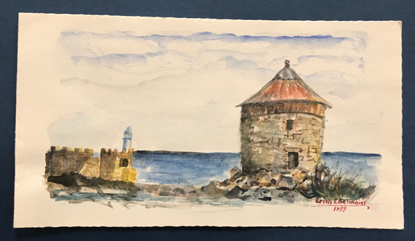 Erich Edelmaier painting