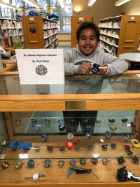 Children's display: beyblades
