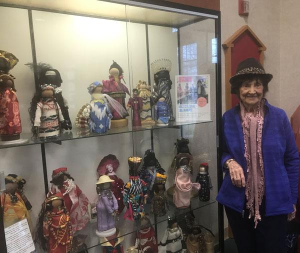 international dolls by Pauline Perlman