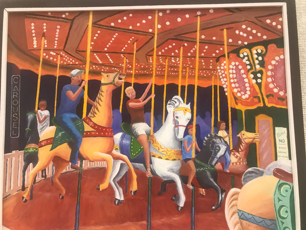 Merry Go Round by Mort Farrah